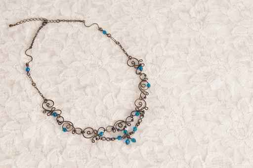 Original beads wire choker