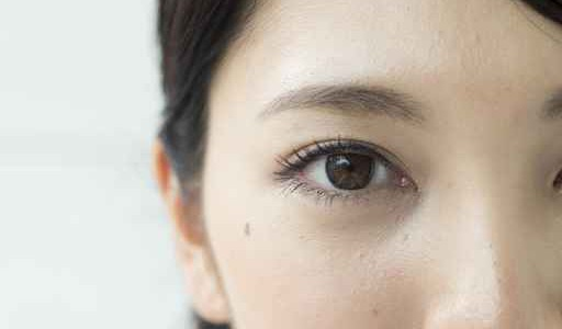 Eyes of a beautiful Japanese woman