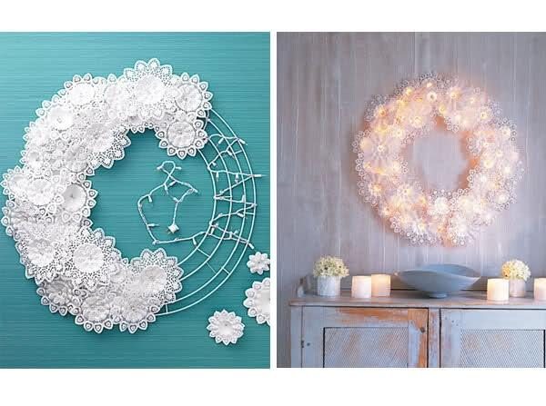 paper-doily-wreath-doily-lace-light-diy-pinterest