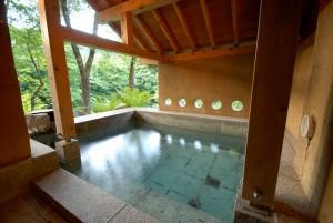 別邸 仙寿庵の客室露天風呂