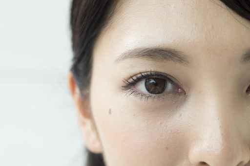 Eyes of a beautiful Japanese woman